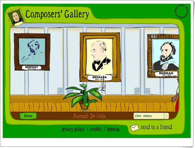 """Composers' Gallery"" (Educación Musical de Secundaria)"