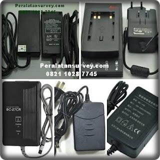 Harga Charger Battery Total Station dan Theodolite Sokkia Topcon Nikon Cygnus Gowin Murah