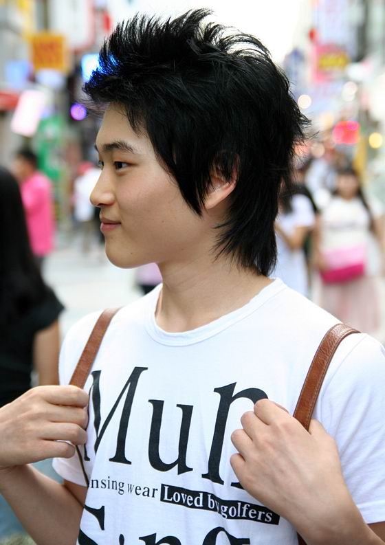 Korean Male Hairstyles Pictures