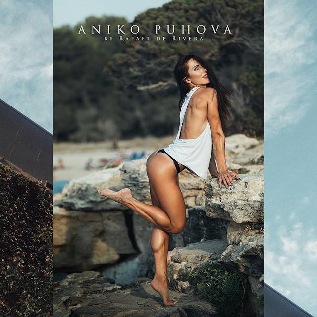 Aniko Puhova Large Sexy Muscular Calves