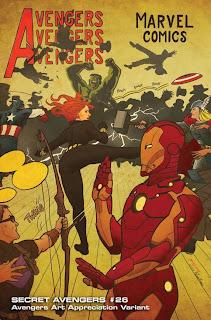 Especial: Vingadores ganham capas que homenageiam obras de arte.| HQ 21