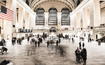 Wallpaper: People in NYC Grand Central Terminal