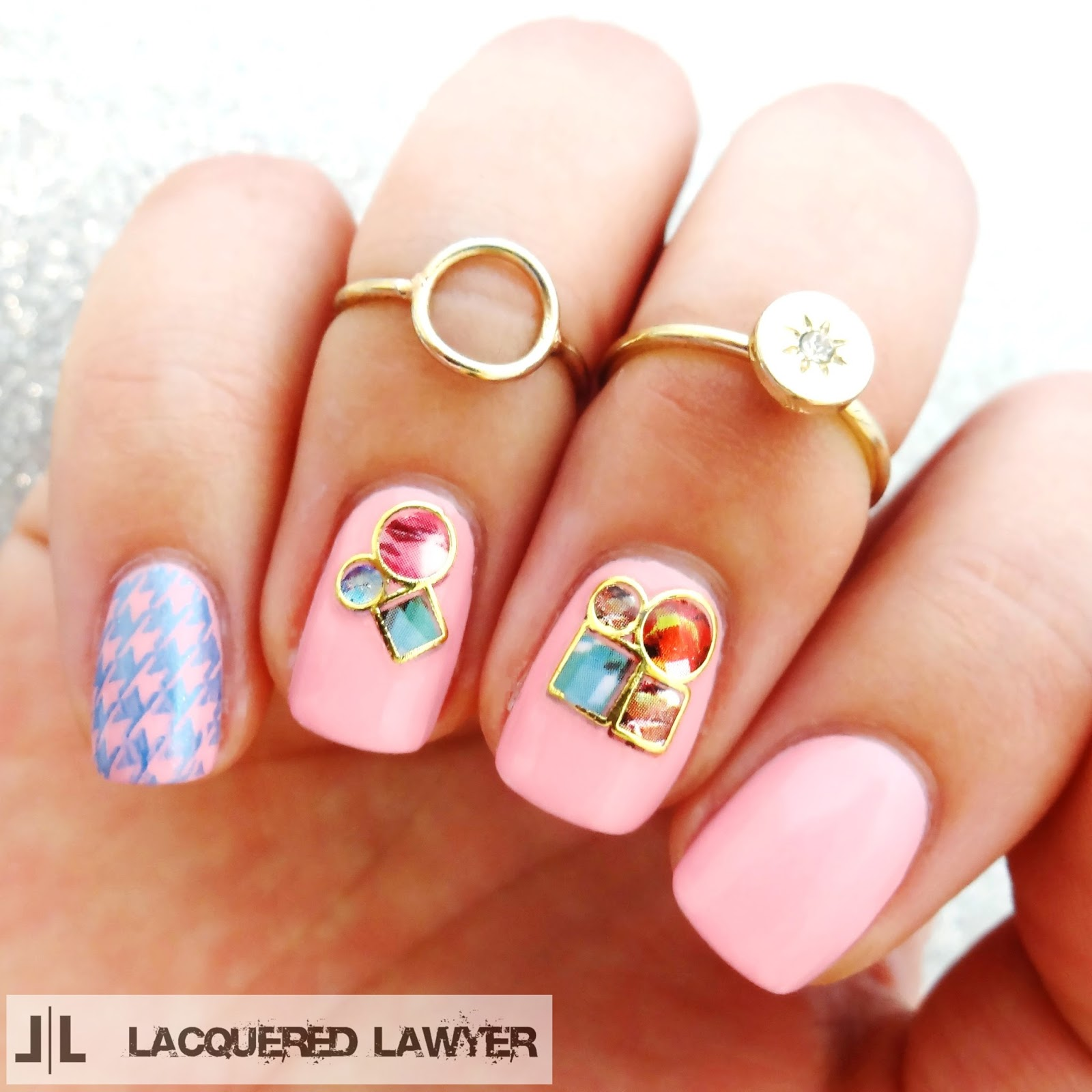 Lacquered Lawyer | Nail Art Blog: Sticker Stones
