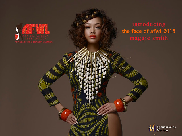 Maggie Smith - Winner of The Face of AFWL 2015