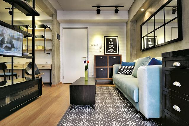 Trik Membuat Apartemen Sempit Terlihat Lebih Lega Dengan Warna Hitam