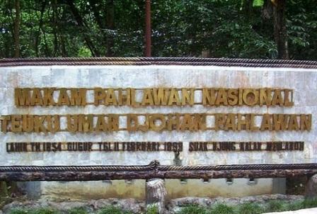 Makam Pahlawan Nasional Teuku Umar makam pahlawan teuku umar