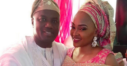Mercy Aigbe's Estranged Husband Sends Message To Actress As He Shares Throwback Family Photo