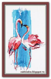 "Panna PT-7014 ""Розовые фламинго"""