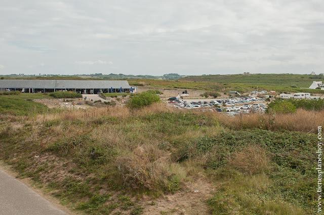 Punta de Raz Pointe du Raz viaje Bretaña paisajes naturaleza