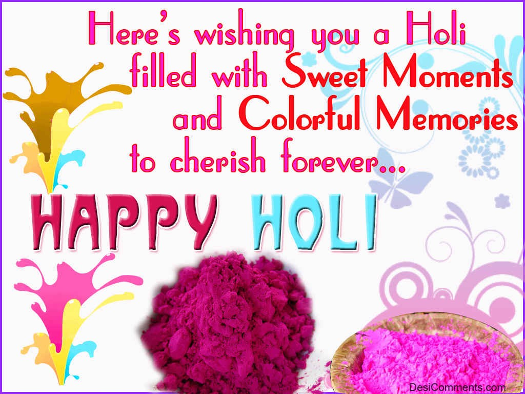 Happy Holi Messages English