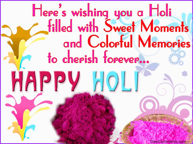 Happy Holi Messages English