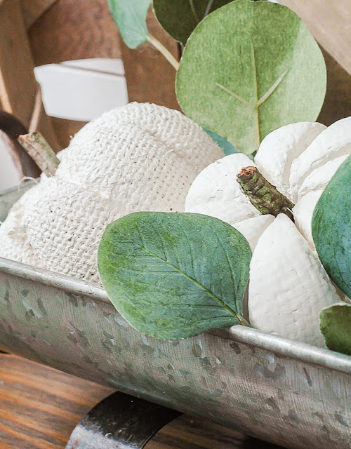 The easiest way to update Dollar Tree pumpkins