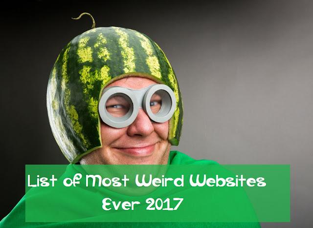 Most Weird Websites Ever