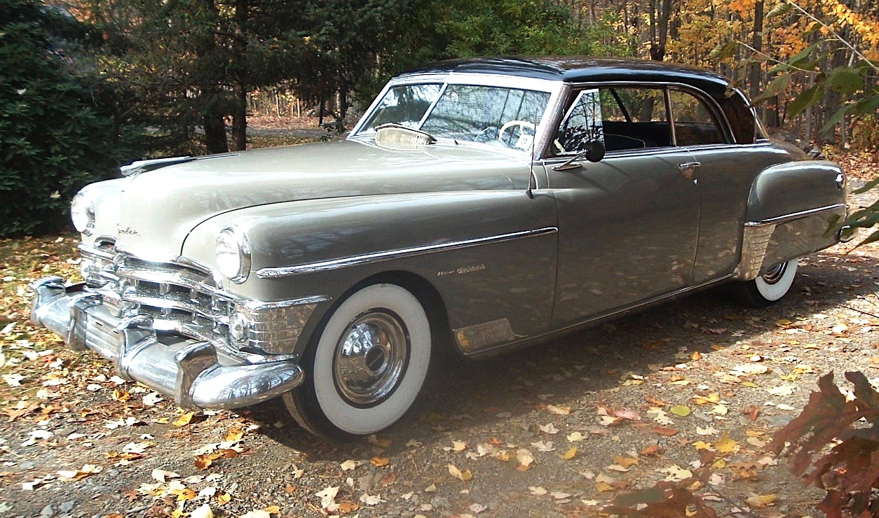 Car Style Critic Early 1950s Chrysler Imperials 1954 New Yorker Deluxe Newport The Upper Photo Shows A Imperial Sedan Lower One Hardtop Their Trim Is Identical In Almost Every Respect
