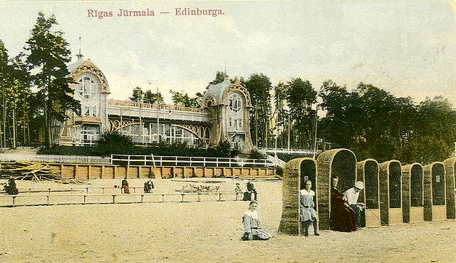 Пляж Эдинбург (Дзинтари)