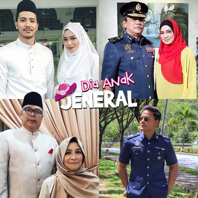 Drama Dia Anak Jeneral Lakonan Niena Baharun, Fattah Amin