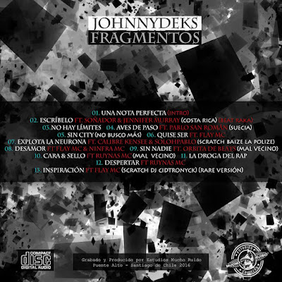 Johnny Deks - Fragmentos 2016