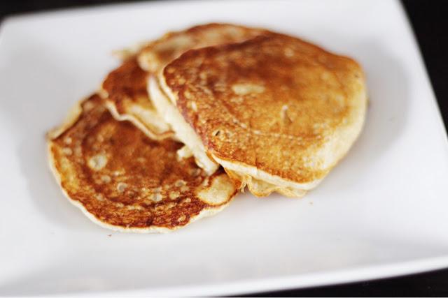 making egg free dairy free pancakes