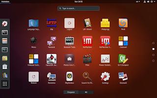 Ubuntu 17.10 (Artful Aardvark) Desktop