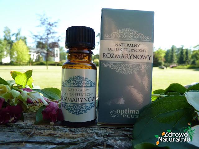 OPTIMA PLUS - Naturalny olejek eteryczny rozmarynowy