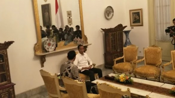 AHY Ketemu Jokowi, Ini Kata Demokrat