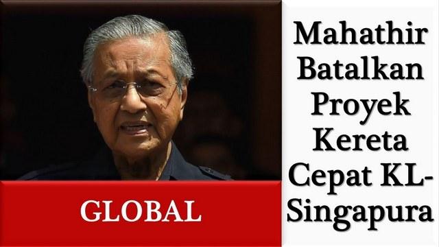 Dahlan Iskan Puji Mahathir yang Batalkan Proyek Kereta Cepat, Sindir Indonesia dengan 'Via Vallen'