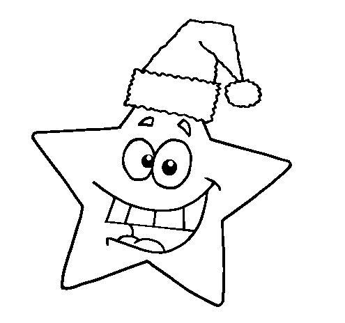 estrela-de-natal-para-colorir
