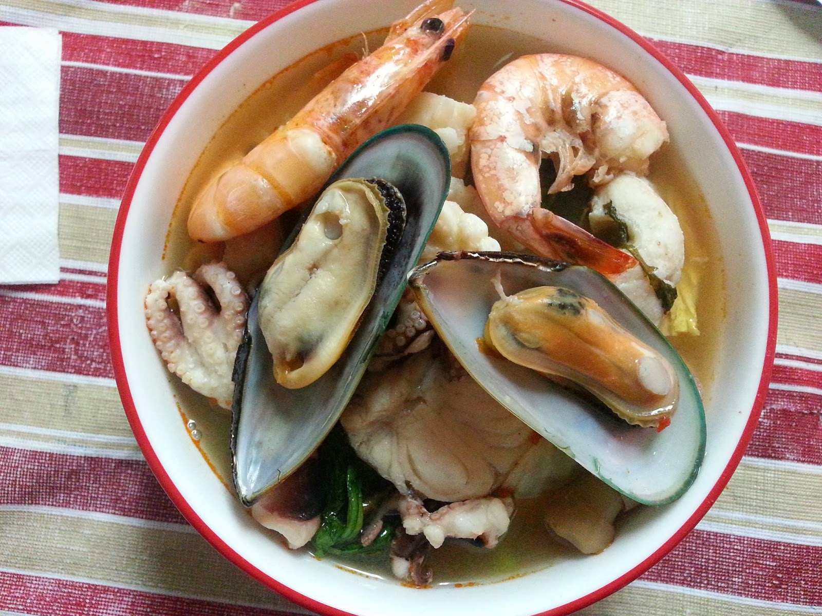 VIETNAMESE SEAFOOD HOTPOT NOODLE - THE NGUYEN RESIDENCE