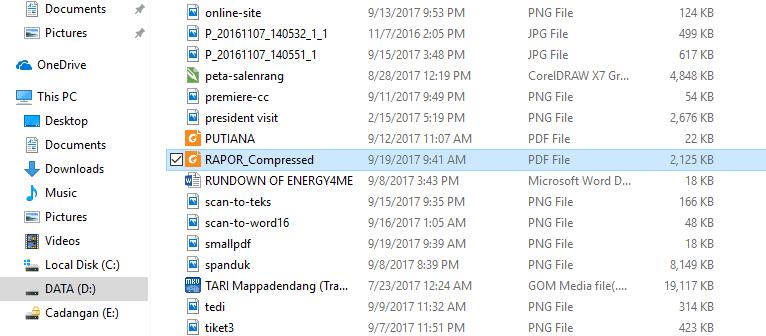 Cara memperkecil ukuran file pdf menjadi 300 kb