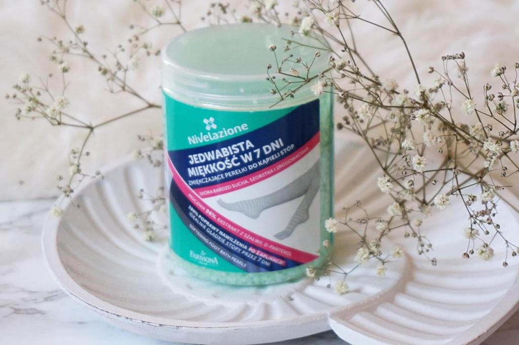 Farmona Nivelazione zmiękczające perełki do kąpieli stóp - jedwabista miękkość w 7 dni