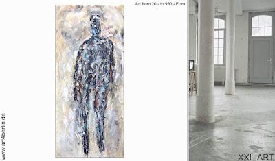Gegenwartskunst, großflächige  Wandbilder, moderne Leinwandmalerei zu echt erschwinglichen Preisen.