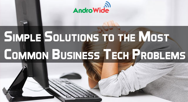 business tech problems and solutions