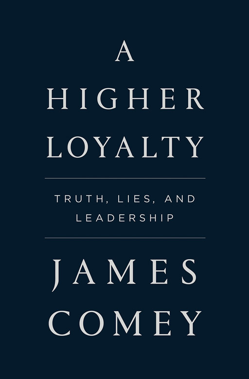 "Former FBI Director James Comey's new memoir ""A Higher Loyalty"" sells over 600K copies in its first week."