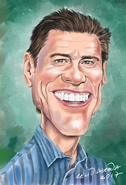 Caricatura Jim Carrey