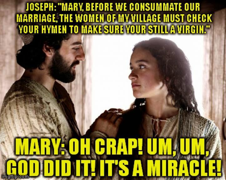 Did Joseph Get Mary Pregnant 85