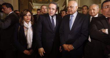 رئيس مجلس النواب يزور المتحف المصري