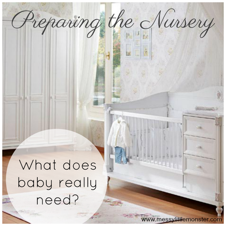 Preparing The Baby S Nursery Messy Little Monster