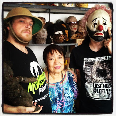 6d14b357d97433 100 REASONS WHY I LOVE THE PHILIPPINES #4: Cecille Baun, the Godmother of  Gore and Queen of Special Effects. This humble and generous lady, pictured  in her ...