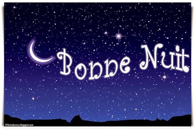 beau message de bonne nuit - bonne nuit mon chéri sms