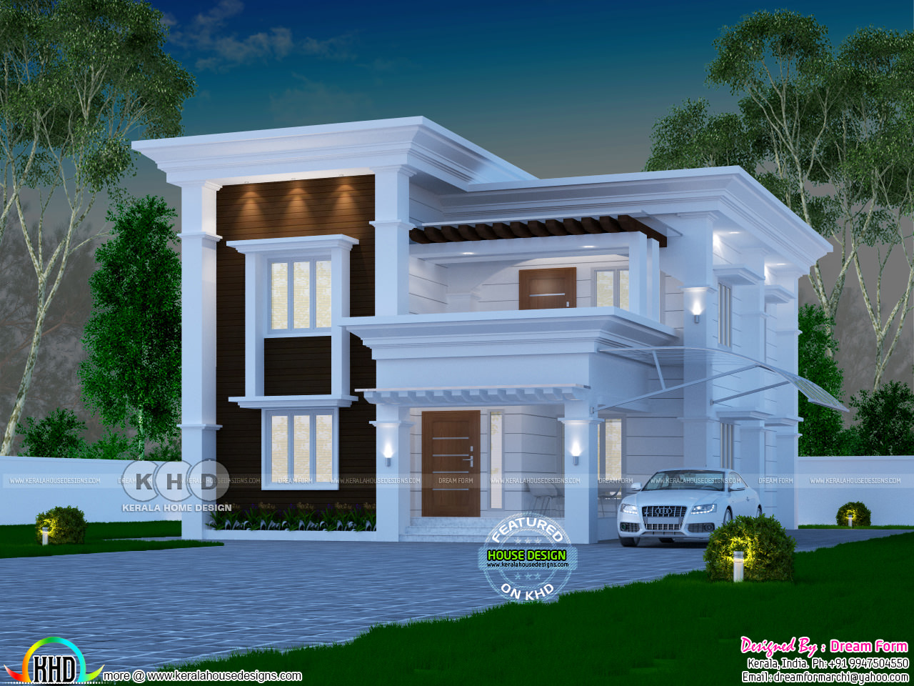 4 Bedroom 2060 Sq Ft Arabian Style Home Design Kerala Home