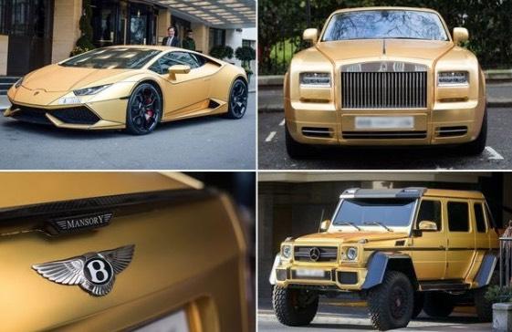 Kereta Bersalut Emas Yang Viral Di London Ini Rupanya Milik Pemuda Dari Malaysia