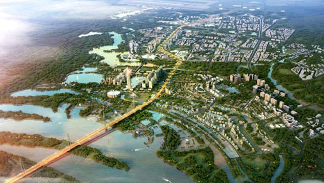 Những cây cầu sẽ giúp thay đổi bộ mặt của khu Đông Hà Nội