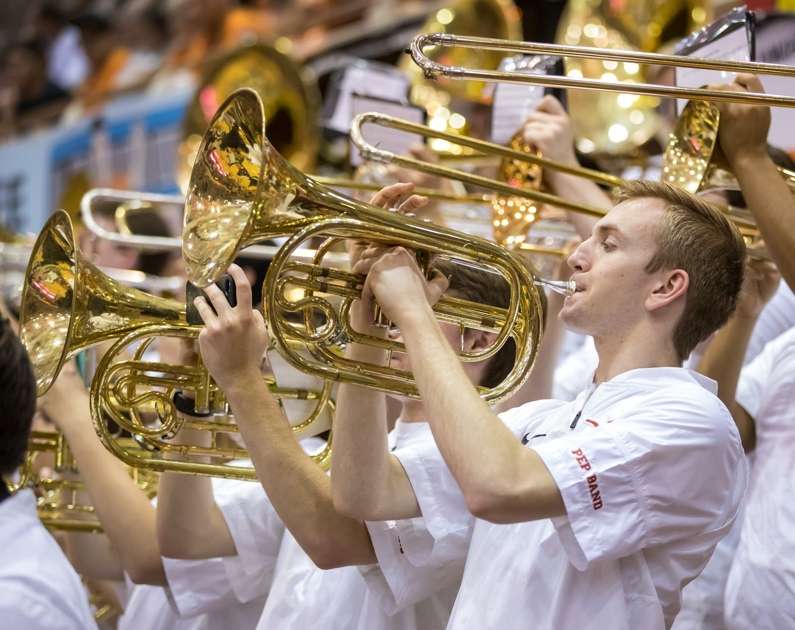 Texas Longhorn Pep Band