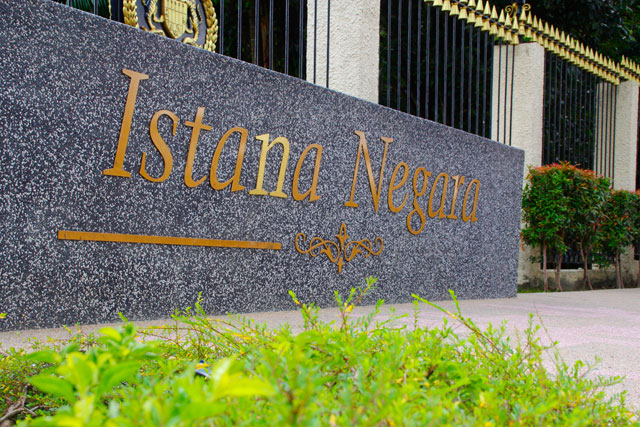 Istana Negara land mark