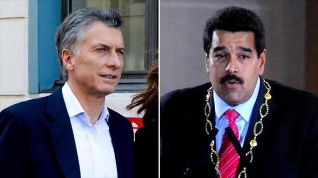 Maduro y Macri se cruzan en la ceremonia de investidura de Moreno