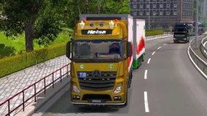 Mercedes Actros MP4 truck mod 1.6
