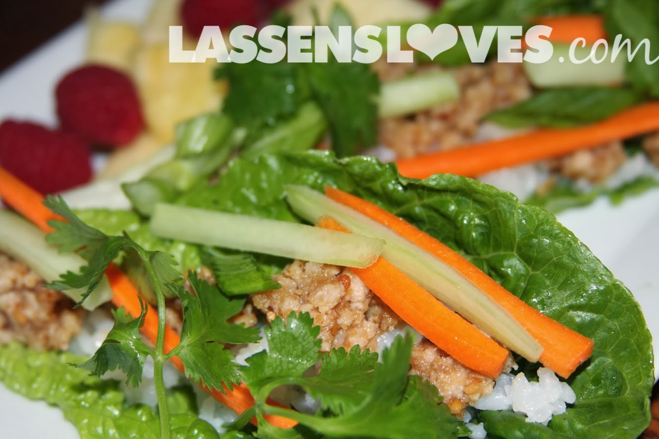 lassensloves.com, Lassen's, Lassens, Thai+Peanut+Chicken+Wrap