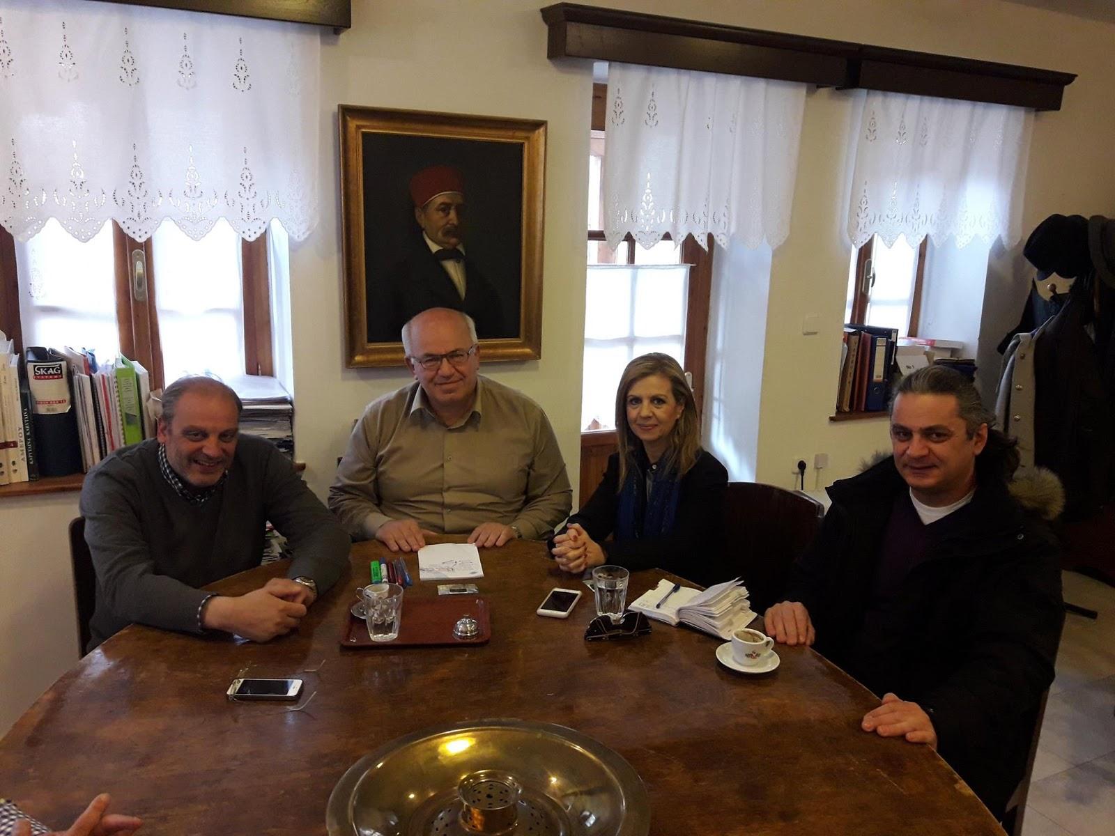 Περιοδεία Μερόπης Τζούφη  στο Μέτσοβο