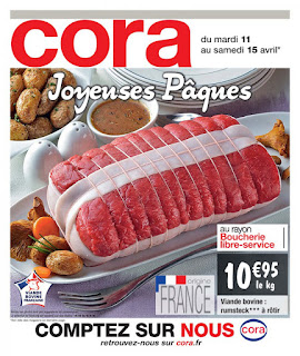 Catalogue Cora 11 au 15 Avril 2017