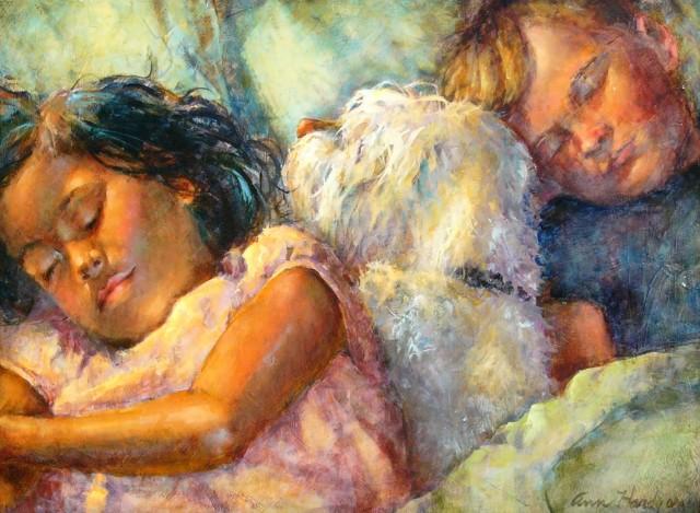 Американский художник. Ann Hardy 8